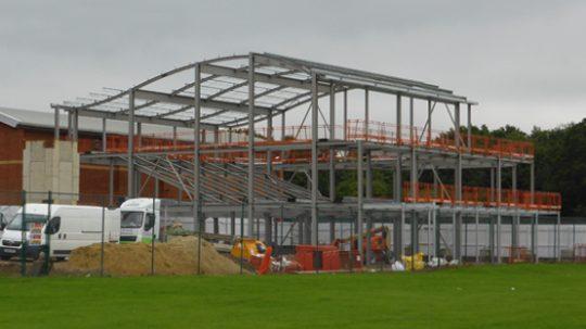 Design Steel Framed College Block
