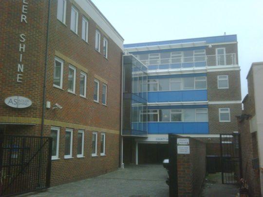 Four Storey Steel Framed Office Building